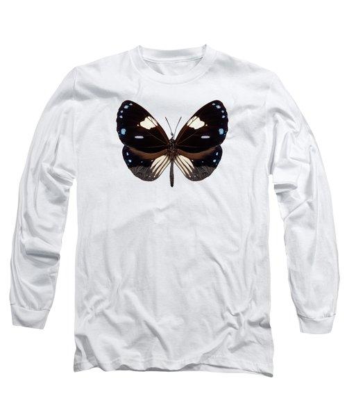 Butterfly Species Euploea Radamanthus Common Name Magpie Crow Long Sleeve T-Shirt