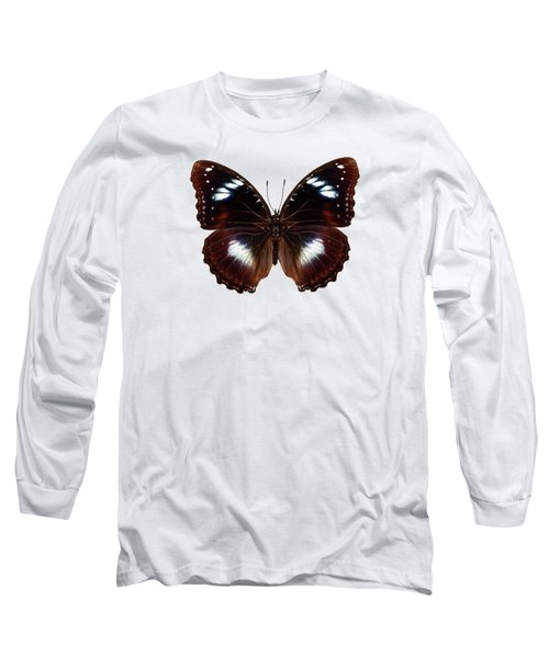 Butterfly Species Hypolimnas Bolina  Long Sleeve T-Shirt
