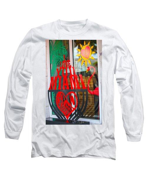 Calle Ocho Long Sleeve T-Shirt