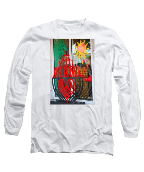 Calle Ocho Long Sleeve T-Shirt