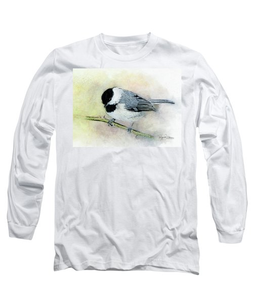 Carolina Chickadee Long Sleeve T-Shirt