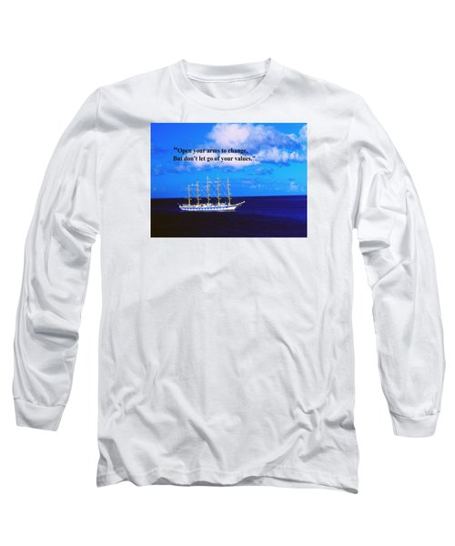 Long Sleeve T-Shirt featuring the photograph Change by Gary Wonning