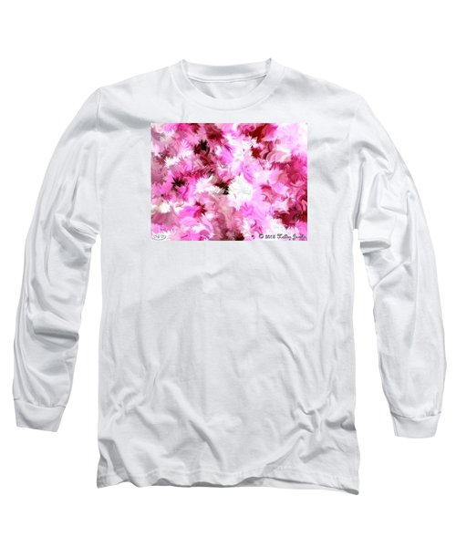 Long Sleeve T-Shirt featuring the painting Chillin It by Holley Jacobs