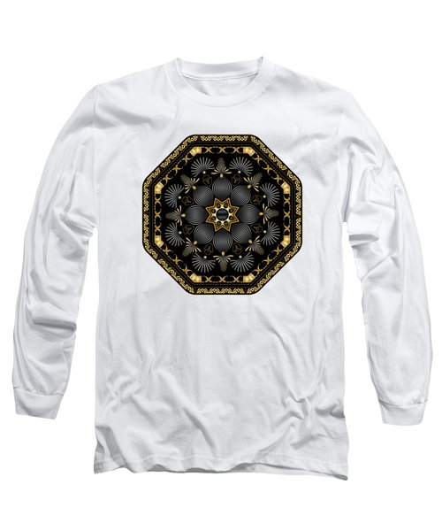Circularium No. 2616 Long Sleeve T-Shirt by Alan Bennington