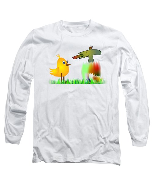 Close Encounters Of The Third Kind Long Sleeve T-Shirt by Michal Boubin