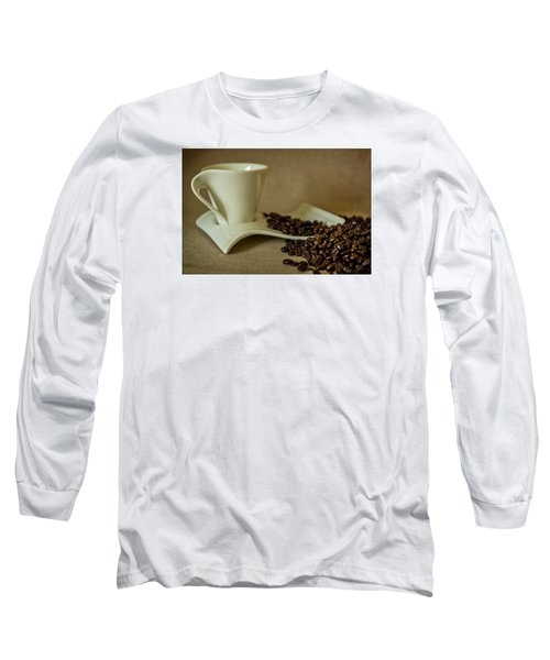 Long Sleeve T-Shirt featuring the photograph Coffee Time by Sabine Edrissi