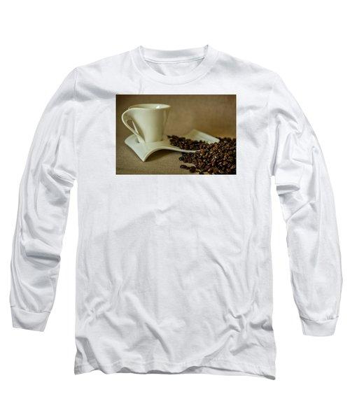 Coffee Time Long Sleeve T-Shirt by Sabine Edrissi