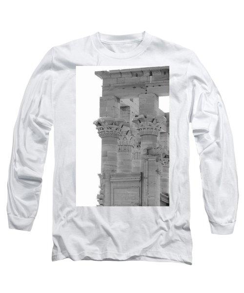 Columns Long Sleeve T-Shirt by Silvia Bruno