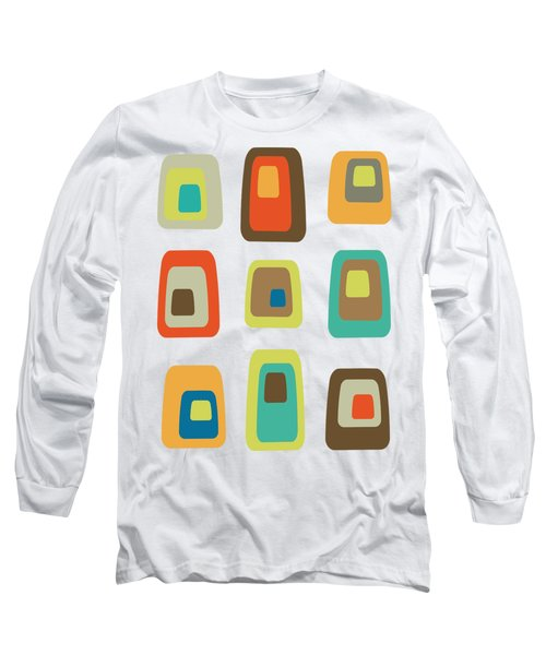 Concentric Oblongs  Long Sleeve T-Shirt