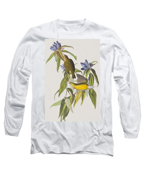 Connecticut Warbler Long Sleeve T-Shirt