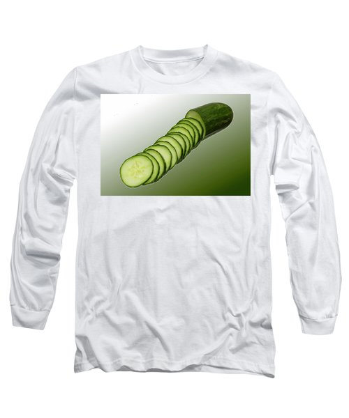 Cool As A Cucumber Slices Long Sleeve T-Shirt by David French