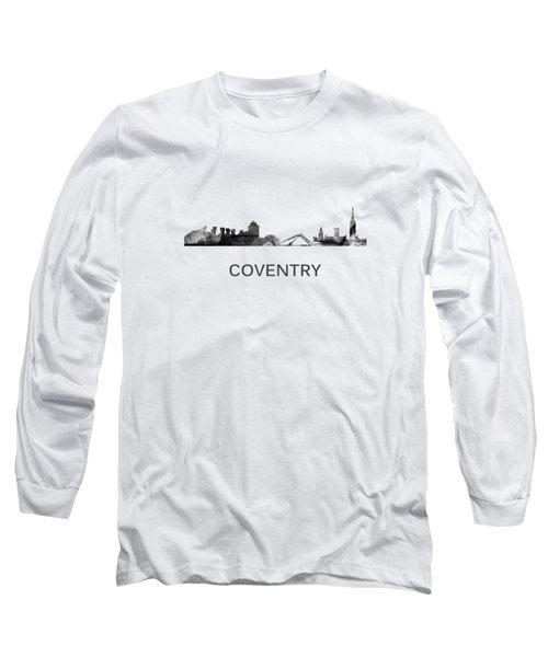 Coventry England Skyline Long Sleeve T-Shirt