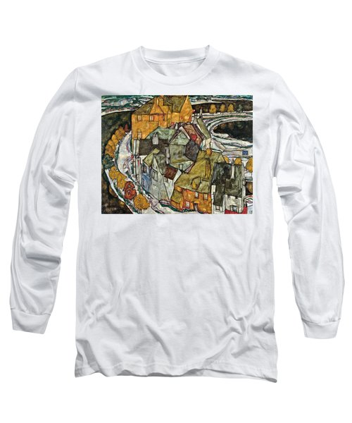 Crescent Of Houses II Island Town 1915 Long Sleeve T-Shirt