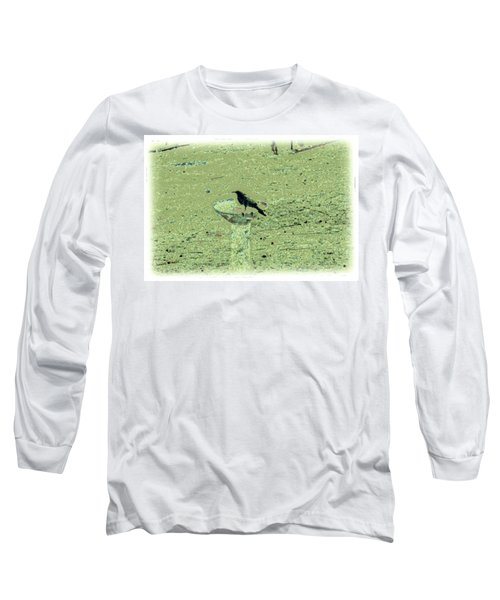 Crow And Bath Long Sleeve T-Shirt