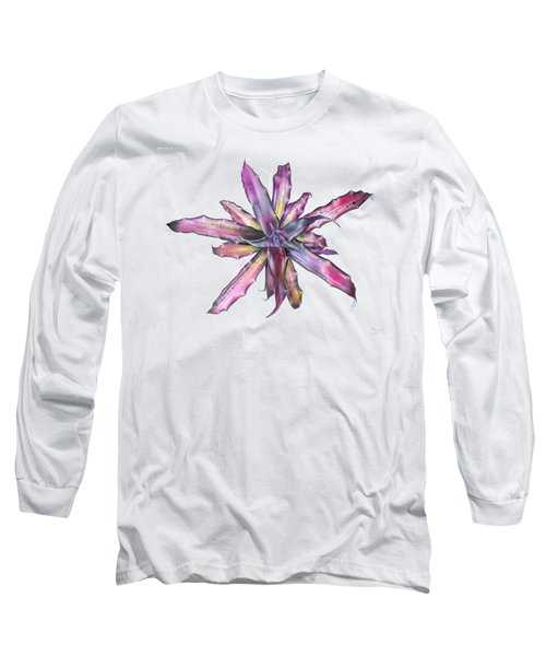 Cryptanthus Tropical Heat Wave Long Sleeve T-Shirt