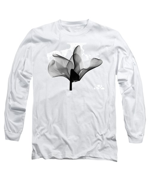 Cyclamen Flower X-ray Long Sleeve T-Shirt