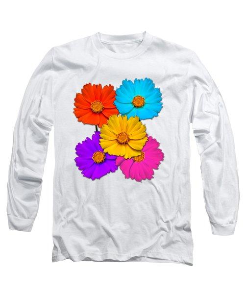 Daisy Pop Long Sleeve T-Shirt by John Haldane