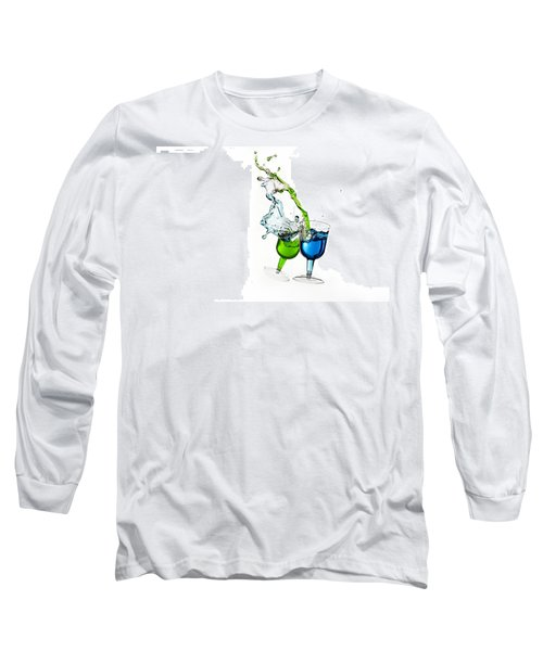 Dancing Drinks Long Sleeve T-Shirt