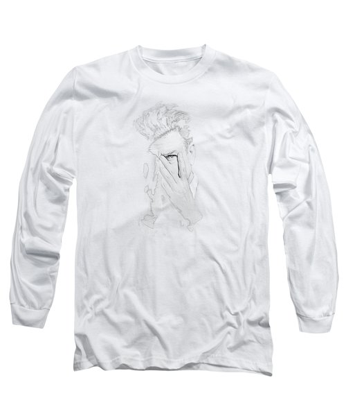 David Lynch Hands Long Sleeve T-Shirt by Yo Pedro