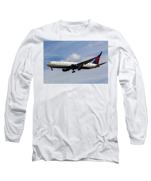 Delta Airlines Boeing 767 Long Sleeve T-Shirt