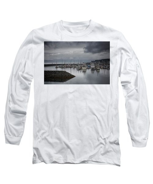 Discovery Harbour Long Sleeve T-Shirt by Randy Hall