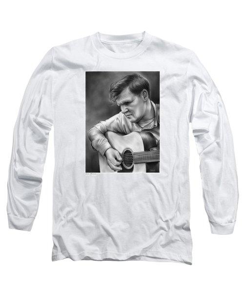Doc Watson Long Sleeve T-Shirt by Greg Joens