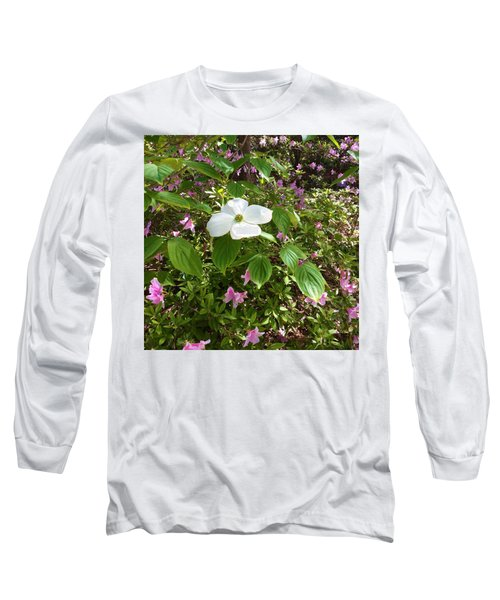 Dogwood Long Sleeve T-Shirt by Kay Gilley