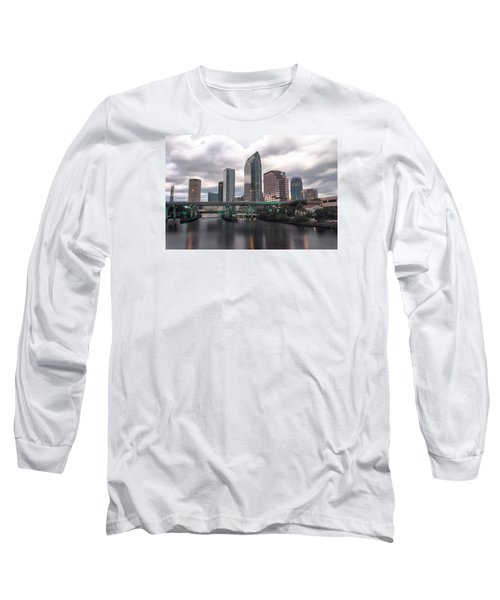 Downtown Tampa Long Sleeve T-Shirt