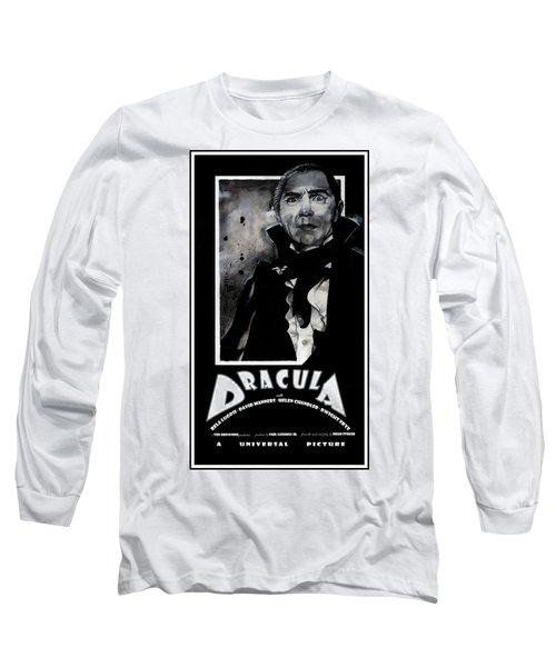 Dracula Movie Poster 1931 Long Sleeve T-Shirt