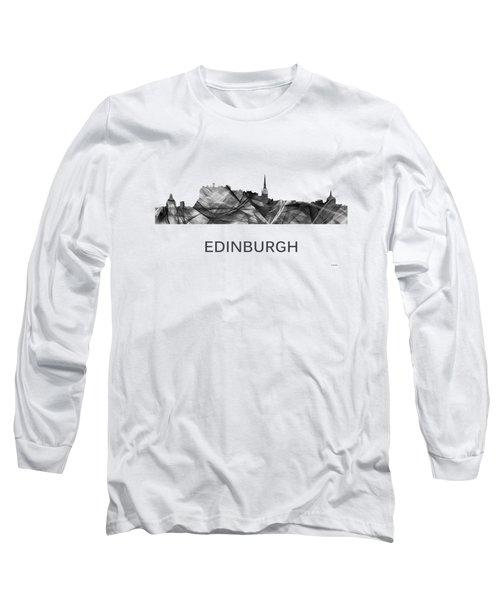 Edinburgh Scotland Skyline Long Sleeve T-Shirt