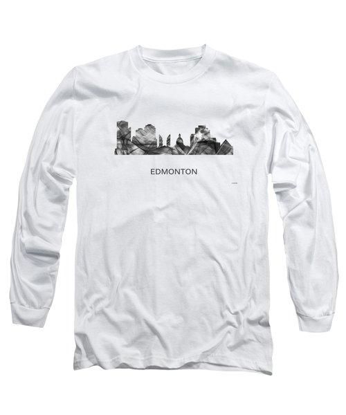 Edmonton Alta. Skyline Long Sleeve T-Shirt