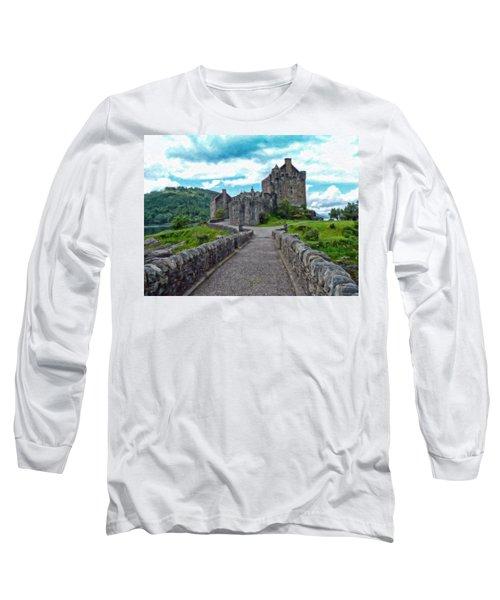 Eilean Donan Castle - -sct665549 Long Sleeve T-Shirt