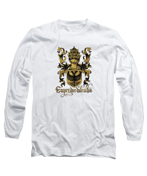 Emperor Of Germany Coat Of Arms - Livro Do Armeiro-mor Long Sleeve T-Shirt