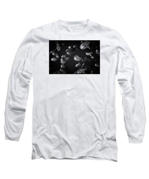 Fla-150811-nd800e-26096-bw-selenium Long Sleeve T-Shirt by Fernando Lopez Arbarello
