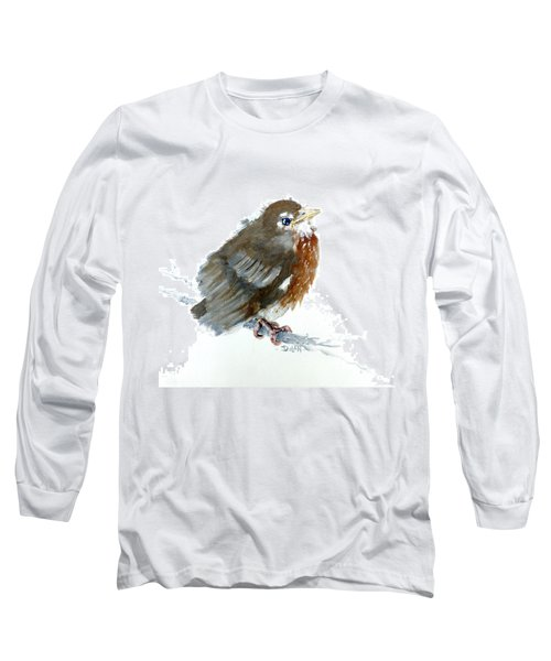 Fledgling Robin Long Sleeve T-Shirt