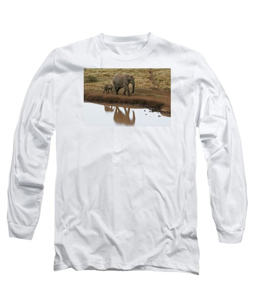 Long Sleeve T-Shirt featuring the photograph Follow Me by Gary Hall