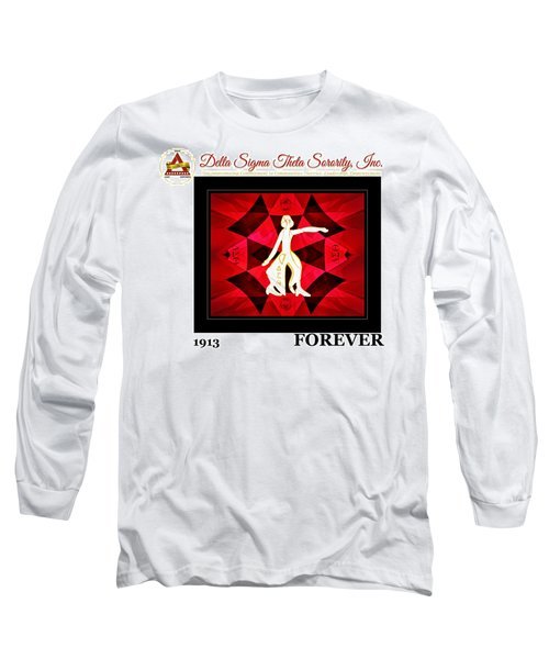 Forever Delta Long Sleeve T-Shirt by Lynda Payton