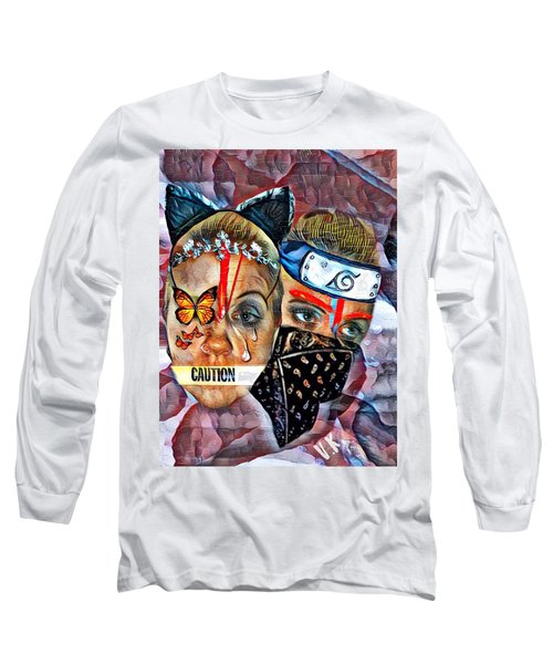 From Waif To Warrior Long Sleeve T-Shirt