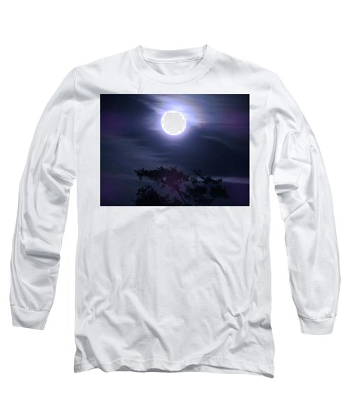 Full Moon Falling Long Sleeve T-Shirt