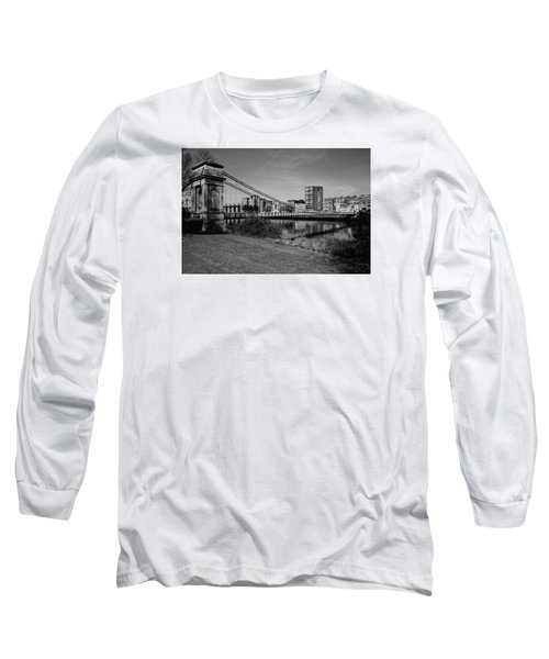 Long Sleeve T-Shirt featuring the photograph Glasgow by Jeremy Lavender Photography