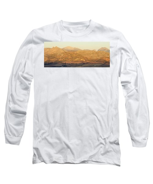 Golden Light In Andalusia Long Sleeve T-Shirt