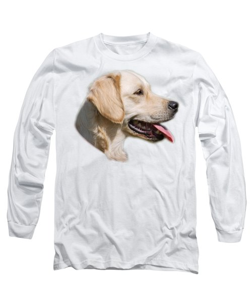 Long Sleeve T-Shirt featuring the photograph Golden Retriever by George Atsametakis