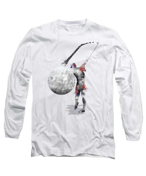 Golf Player Long Sleeve T-Shirt
