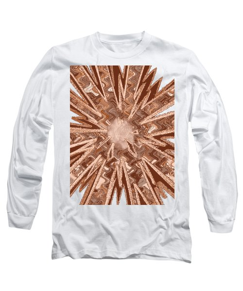 Goodluck Star Sparkles Obtained In Meditative Process Navinjoshi Artist Fineartamerica Pixels Long Sleeve T-Shirt