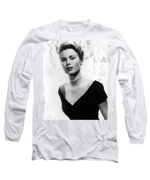 Grace Kelly Long Sleeve T-Shirt