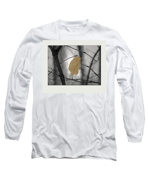 Hanging In The Balance Long Sleeve T-Shirt by Sue Stefanowicz