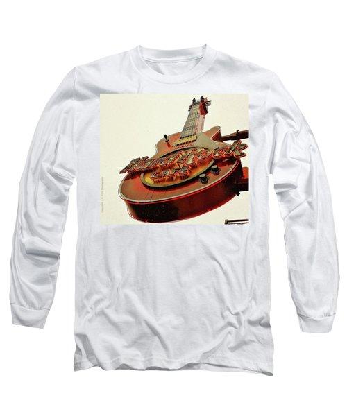 Hard Rock Cafe' Long Sleeve T-Shirt by Al Fritz