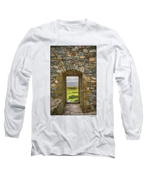 Harlech View Long Sleeve T-Shirt by R Thomas Berner