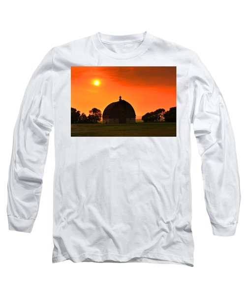 Harvest Sunset  Long Sleeve T-Shirt