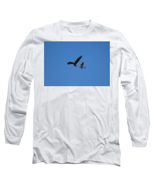 Hawk Vs Eagle Long Sleeve T-Shirt